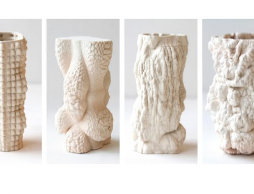 The Weave: 3D Printed Ceramic Brick Structure Builds Alternative View of Matter